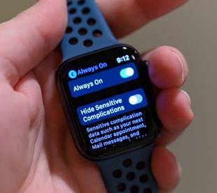 apple watch display always on