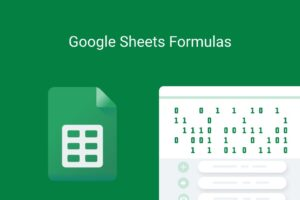 google sheets formulas